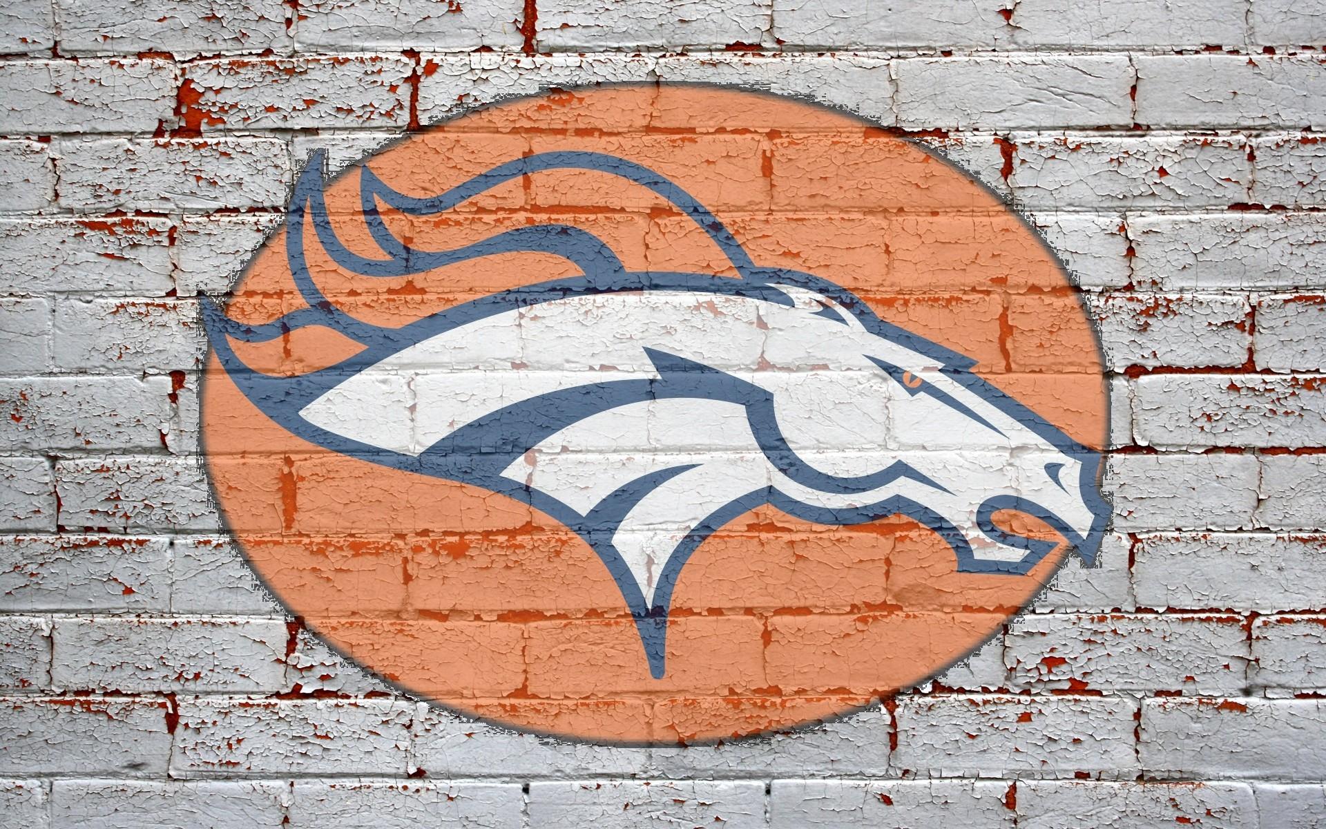 Nfl Denver Broncos Logo On Blue Background 1920x1200 Wide Short News 1920x1200