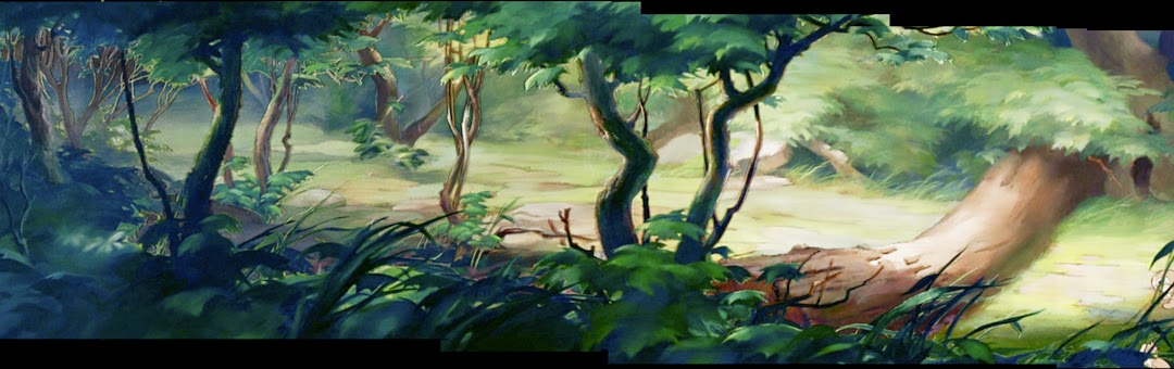 Today another digital restoration of art from Bambi 1080x340