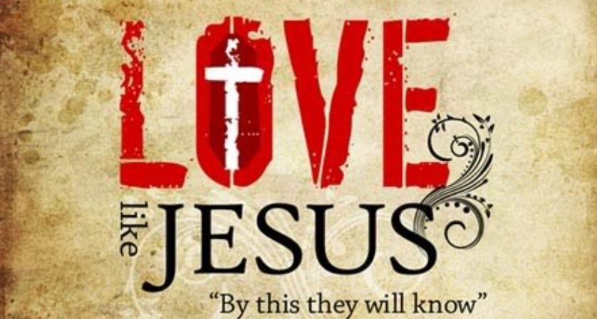 By this all men will know that you are my disciples if you love one 838x449