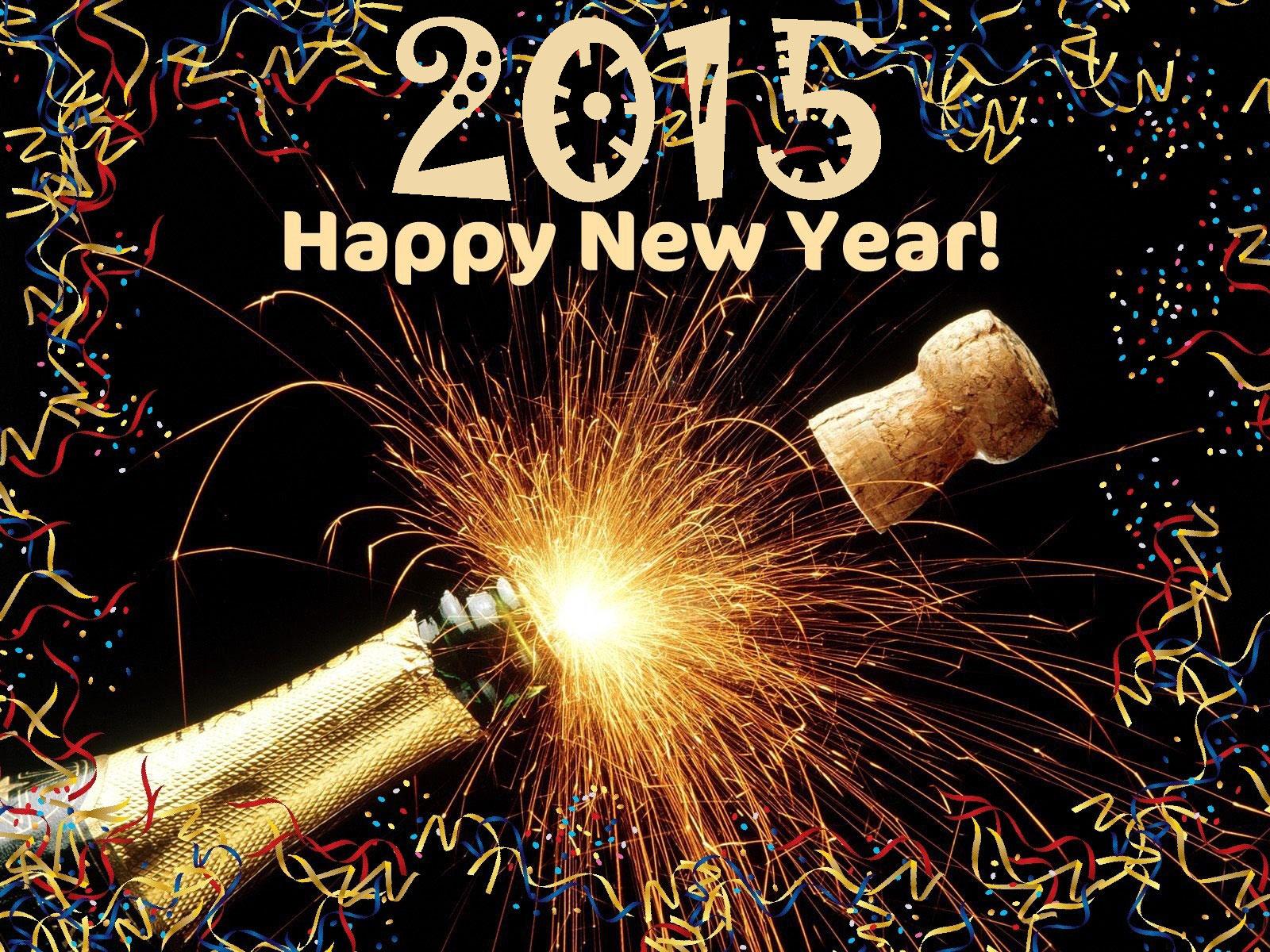 Happy New Year 2015 Wallpaper 3d 16   Engledow Group 1600x1200