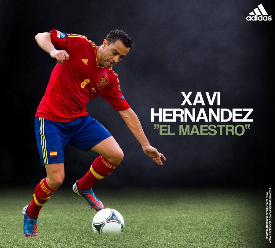Xavi Hernandez Wallpaper by MARRAKCHI 900x812
