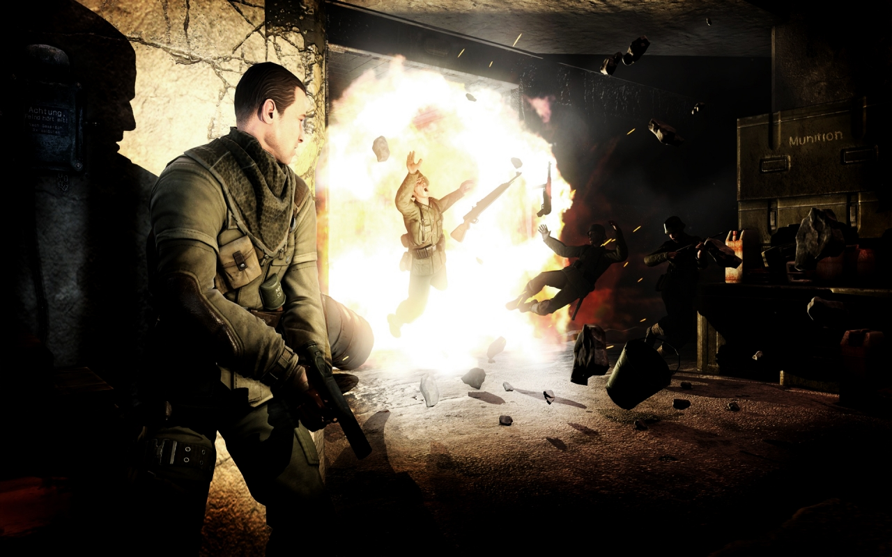 Sniper Elite V2 HD Wallpaper HD Wallpapers Bulgaria 1280x800