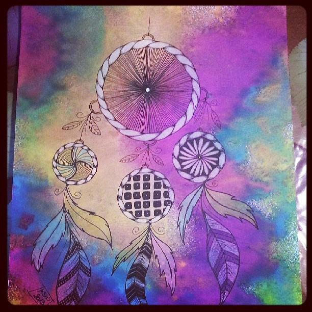 Colorful Dream Catcher Wallpaper