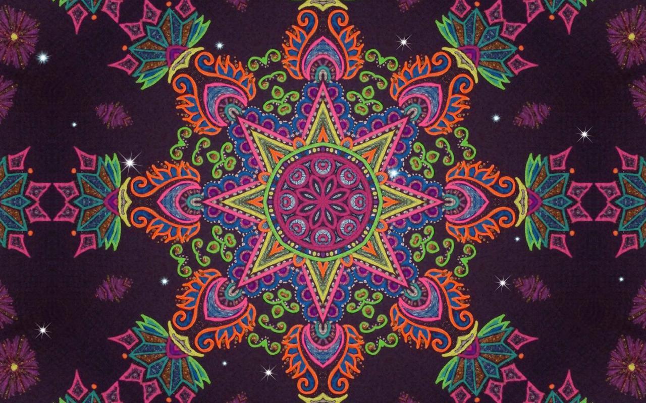 Mandala Live Wallpaper   screenshot 1280x800