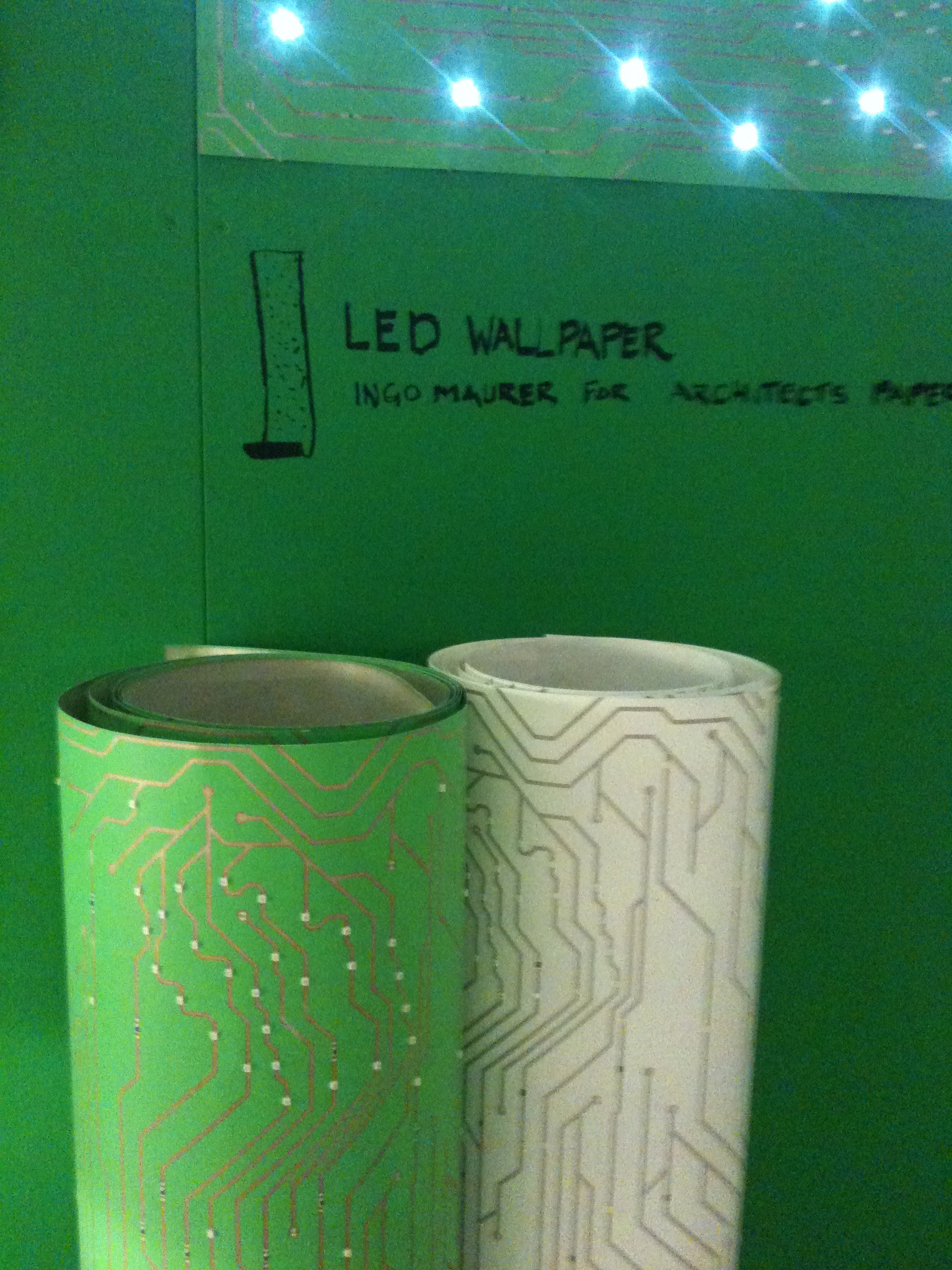 LED wallpaper is here Visible Light Communications 1536x2048