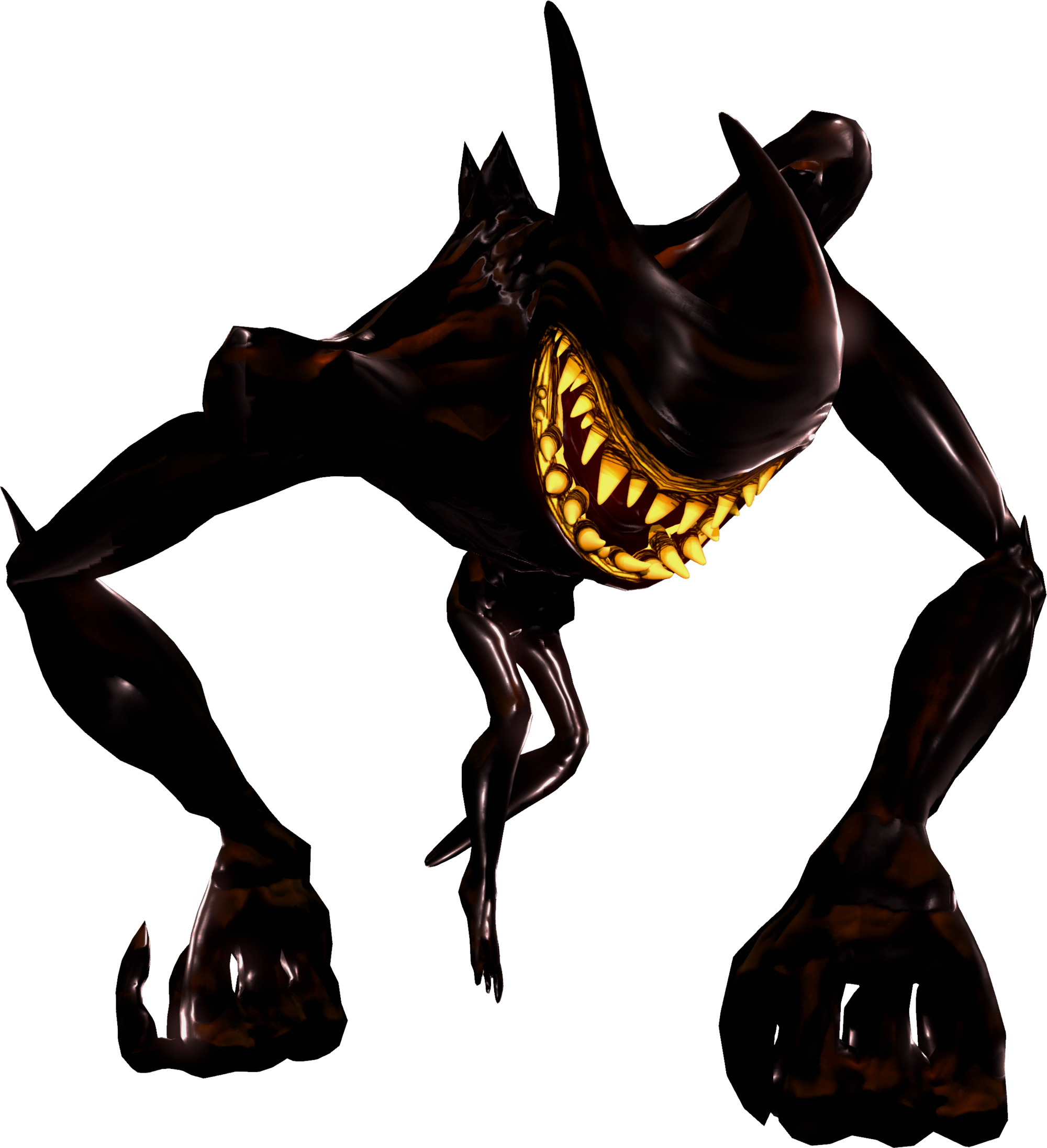 Bendy And The Ink Machine Beast Bendy Drawing Download 2000x2194