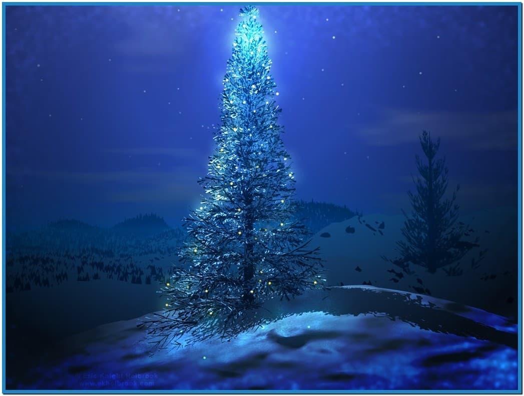 screensaversbizchristmas tree wallpapers and screensavershtml 1047x791
