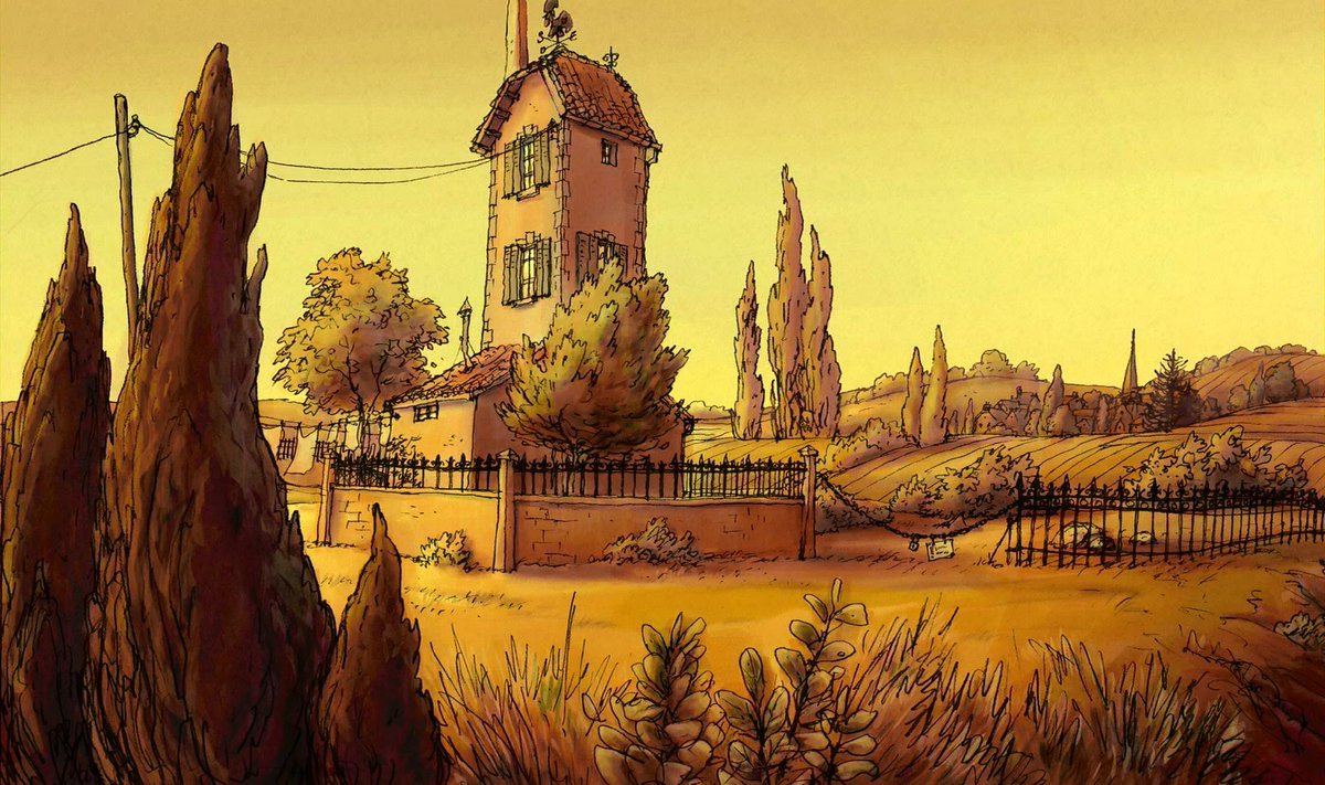 Animation Backgrounds on Twitter The Triplets of Belleville Art 1200x711