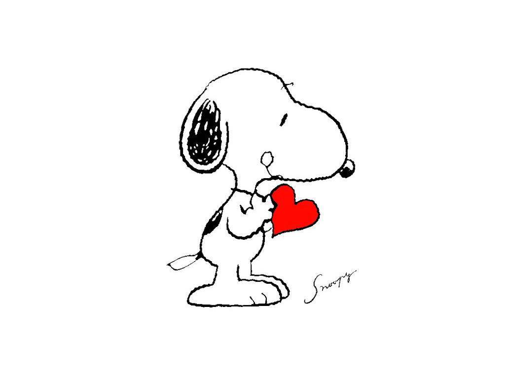 Be my Snoopy Valentines Day is coming 1024x768
