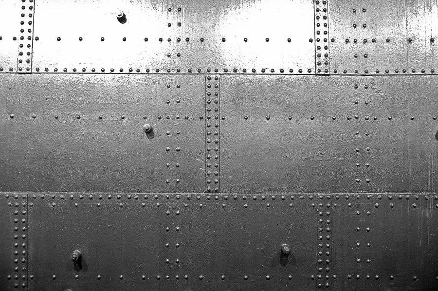 Riveted Metal Wallpaper Wallpapersafari