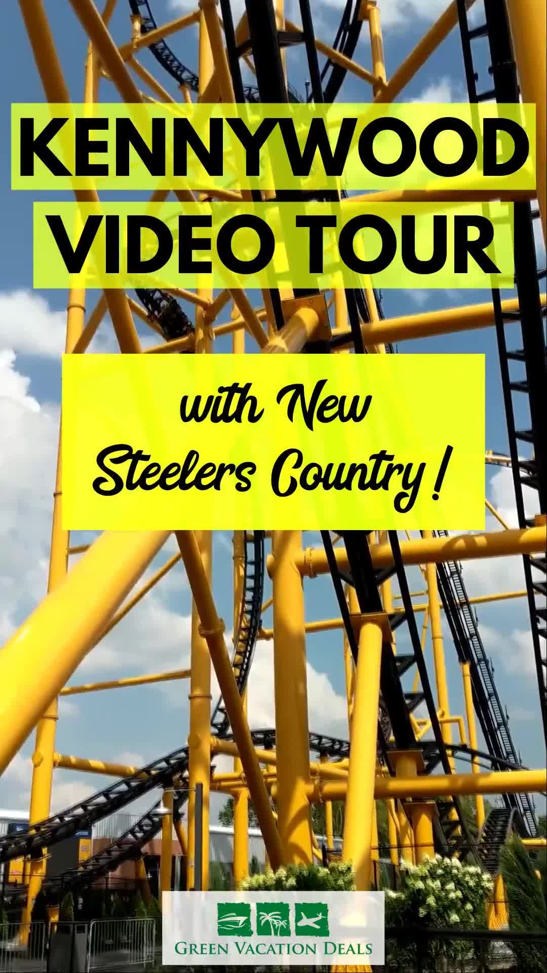 See Kennywoods New Steelers Country During Theme Park Video Tour 1080x1920