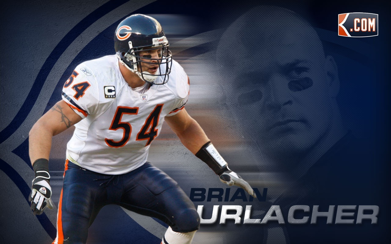 Brian Urlacher Desktop Wallpaper Wide Sport Photo Shared By 1280x800