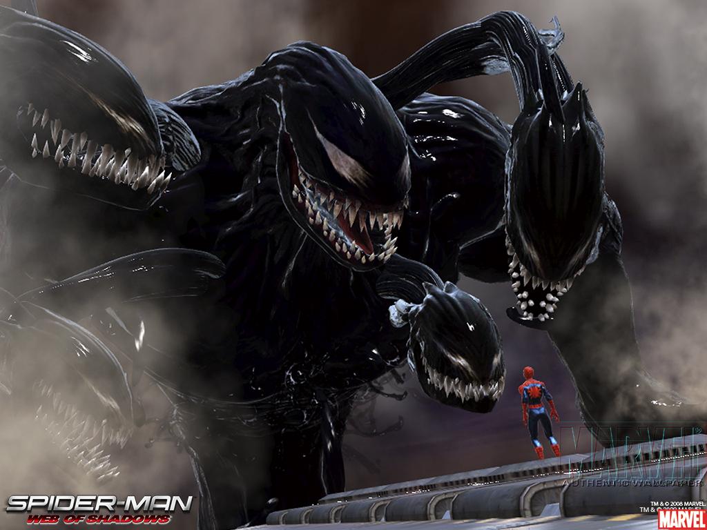 Venom Spider man Wallpaper 1024x768 Venom Spiderman 1024x768