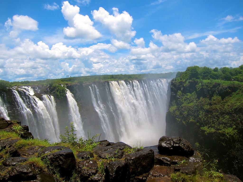 Victoria Falls 4 HD Wallpaper Landmarks Wallpapers 1024x768