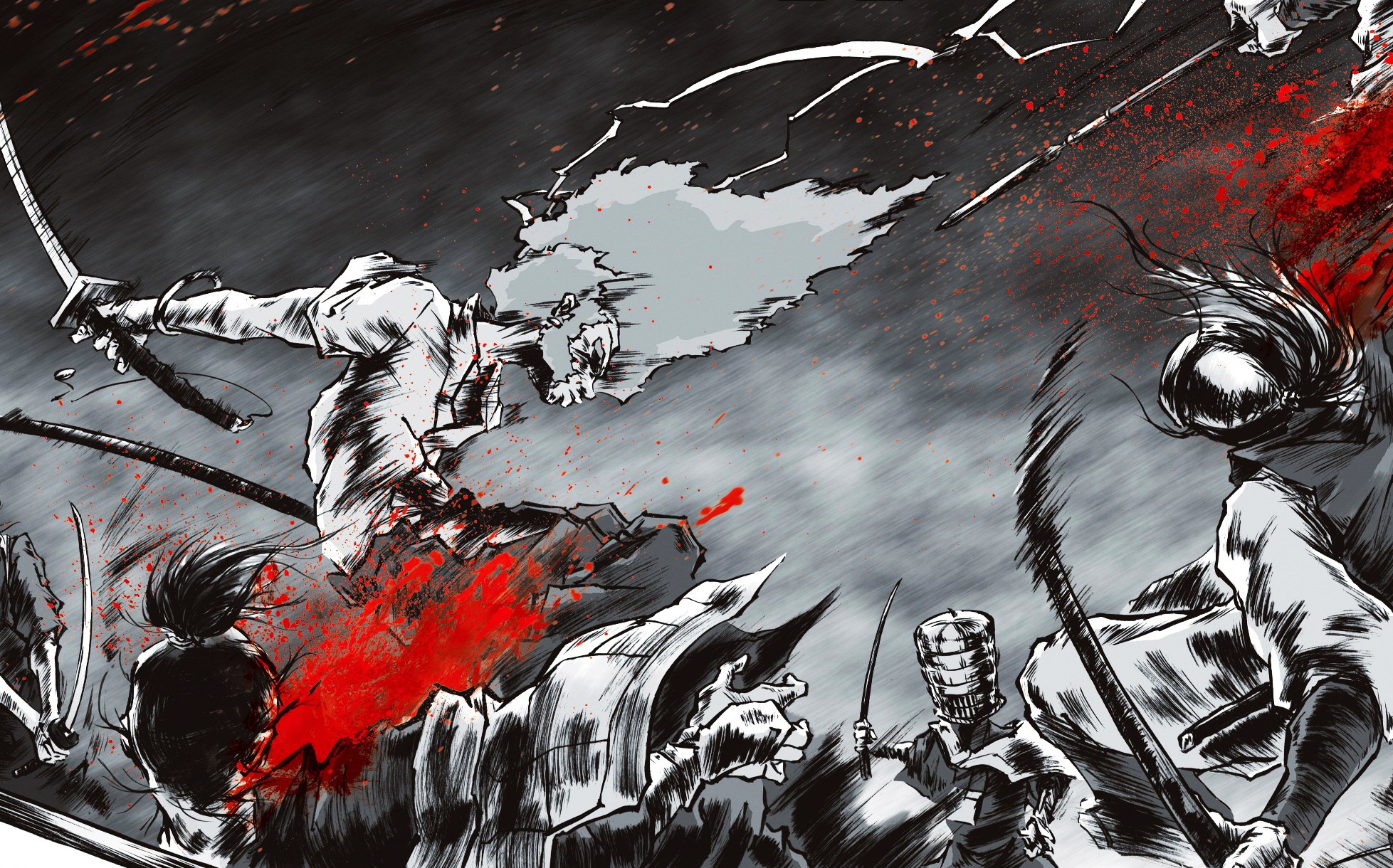 21++ 1080p Wallpaper Anime Samurai - Baka Wallpaper