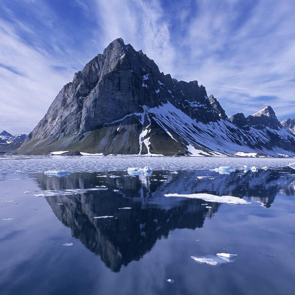 HD Snowy Mountain Wallpaper