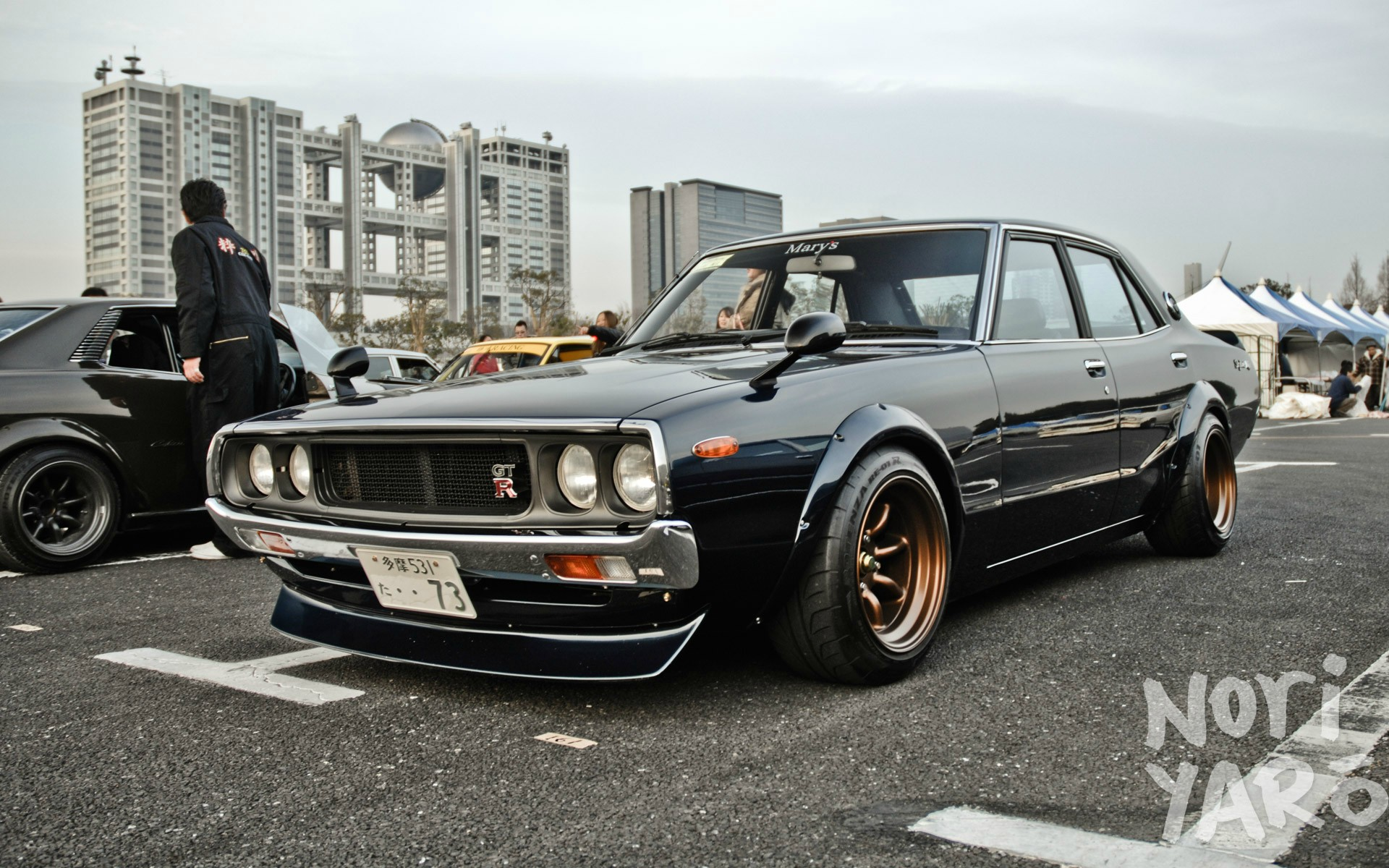 Datsun 510 Hellaflush wallpaper 1920x1200 8100 1920x1200