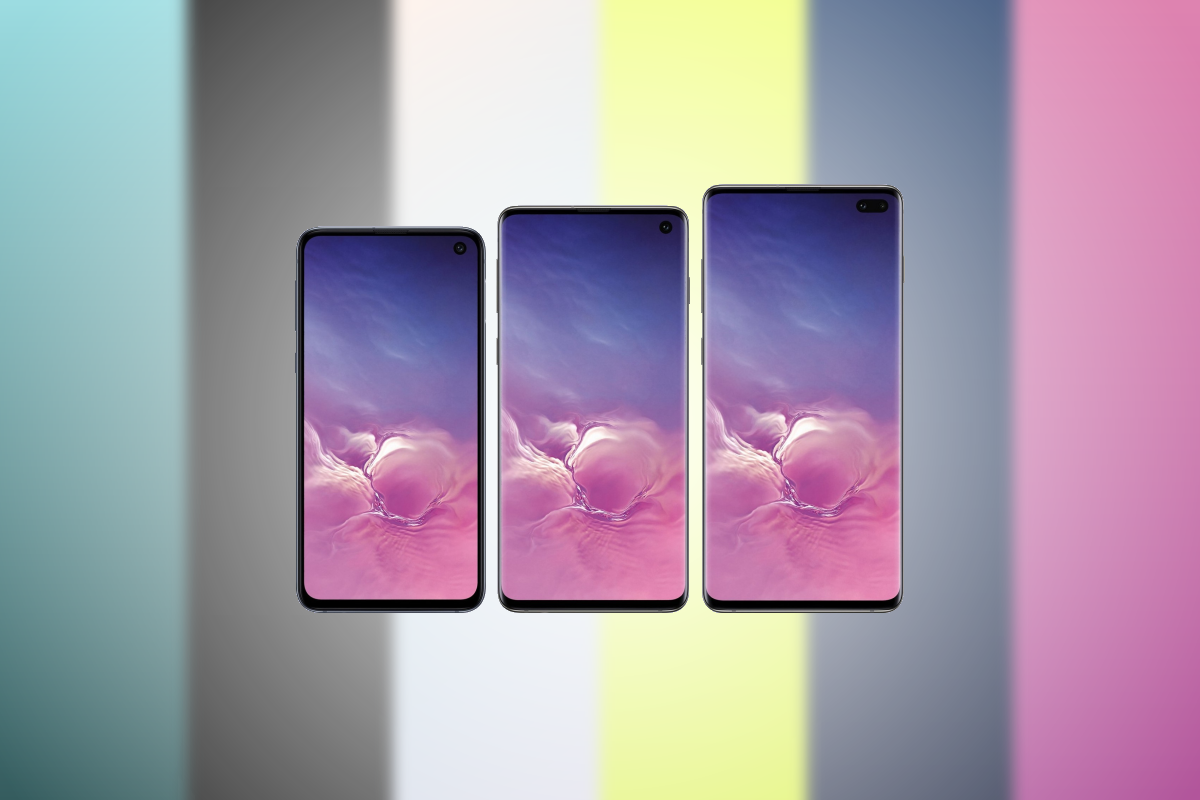 Download Samsung Galaxy S10s New One UI Wallpapers Right Here 1200x800
