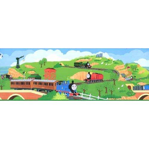 Thomas the Tank Train Wallpaper Border Home Improvement 500x500