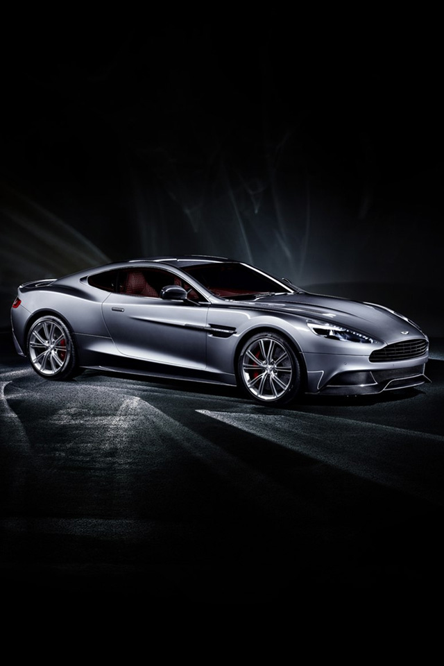 Aston Martin Vanquish 2014  3 iPhone wallpaper iPhone 4 640x960