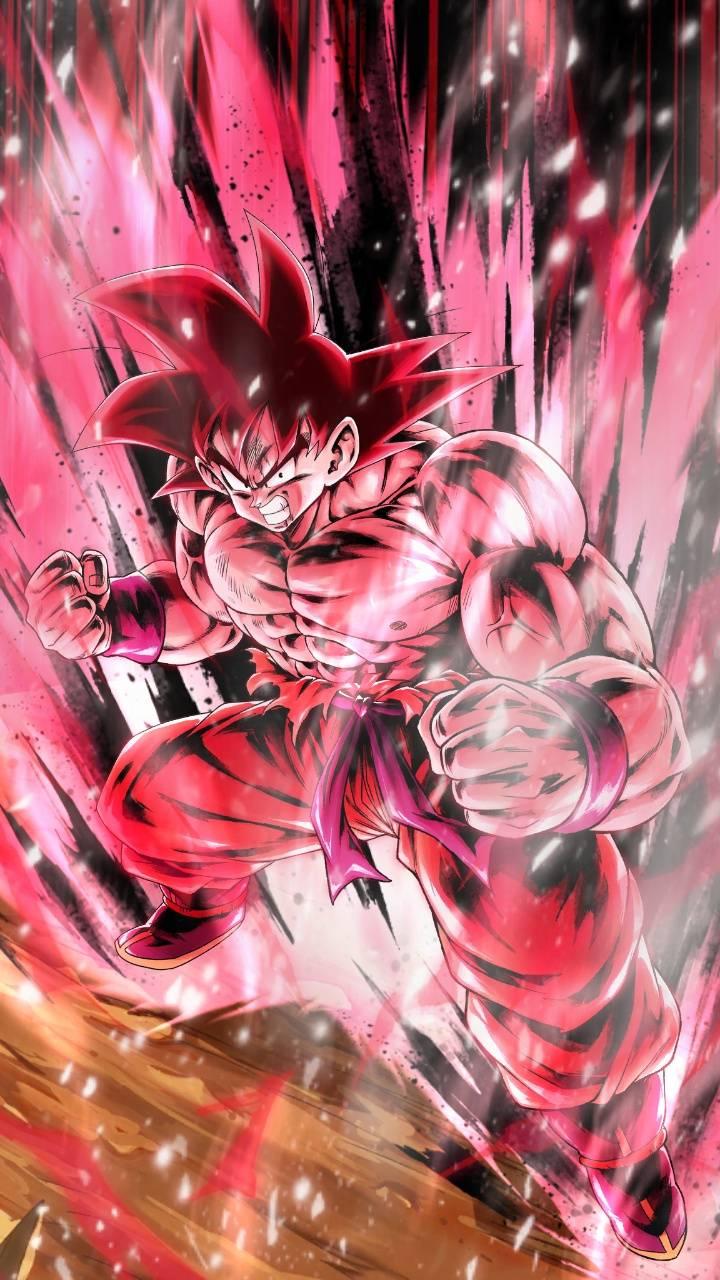 Goku Kaioken Wallpapers   Top Goku Kaioken Backgrounds 720x1280