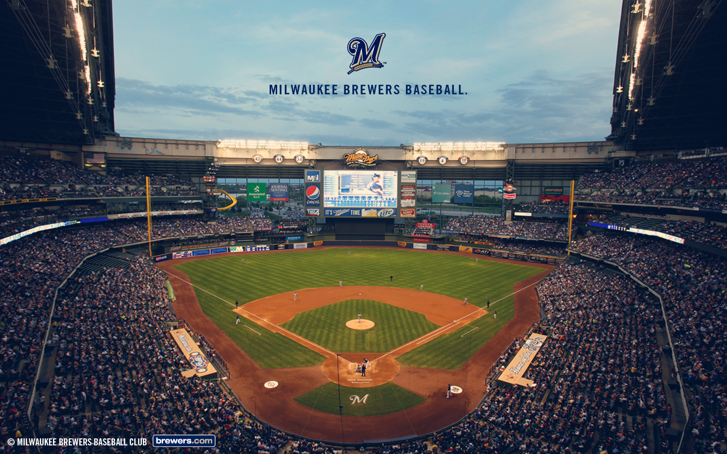48] Milwaukee Brewers Wallpaper Desktop on WallpaperSafari 1440x900