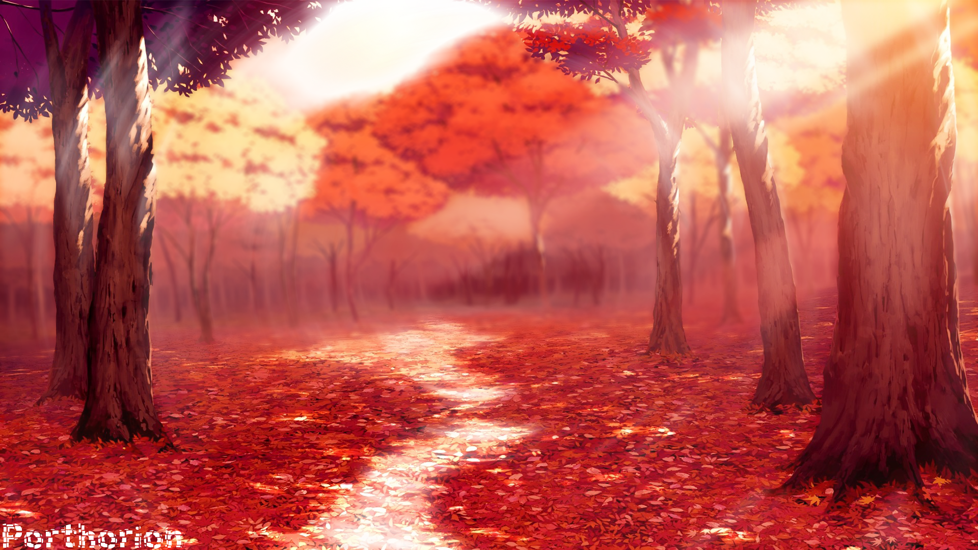 Fall In Love Girl Wallpaper : Anime Fall Wallpapers - WallpaperSafari