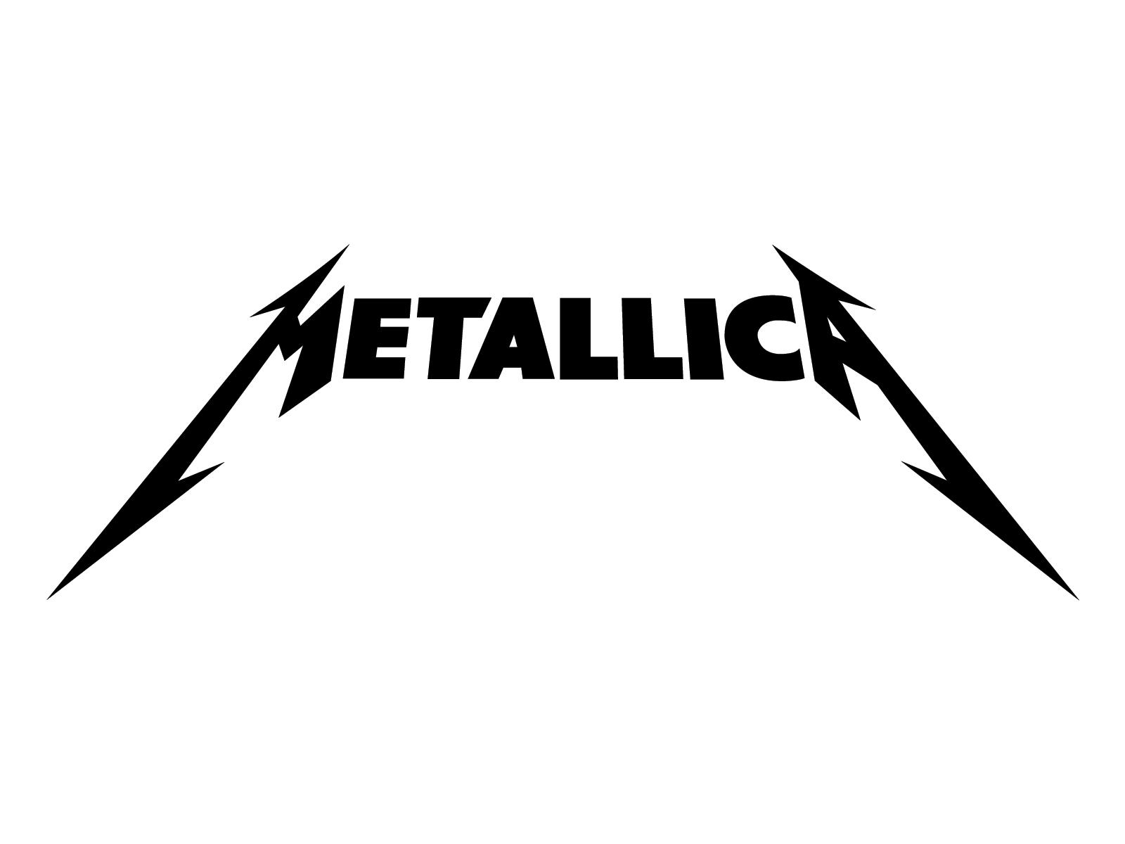 Metallica logo wallpaper 1600x1200