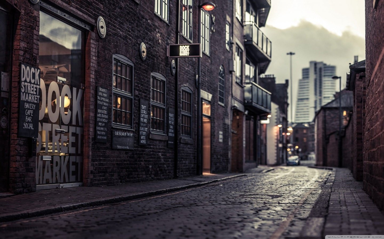 Dock Street Market 4K HD Desktop Wallpaper for 4K Ultra HD TV 1440x900
