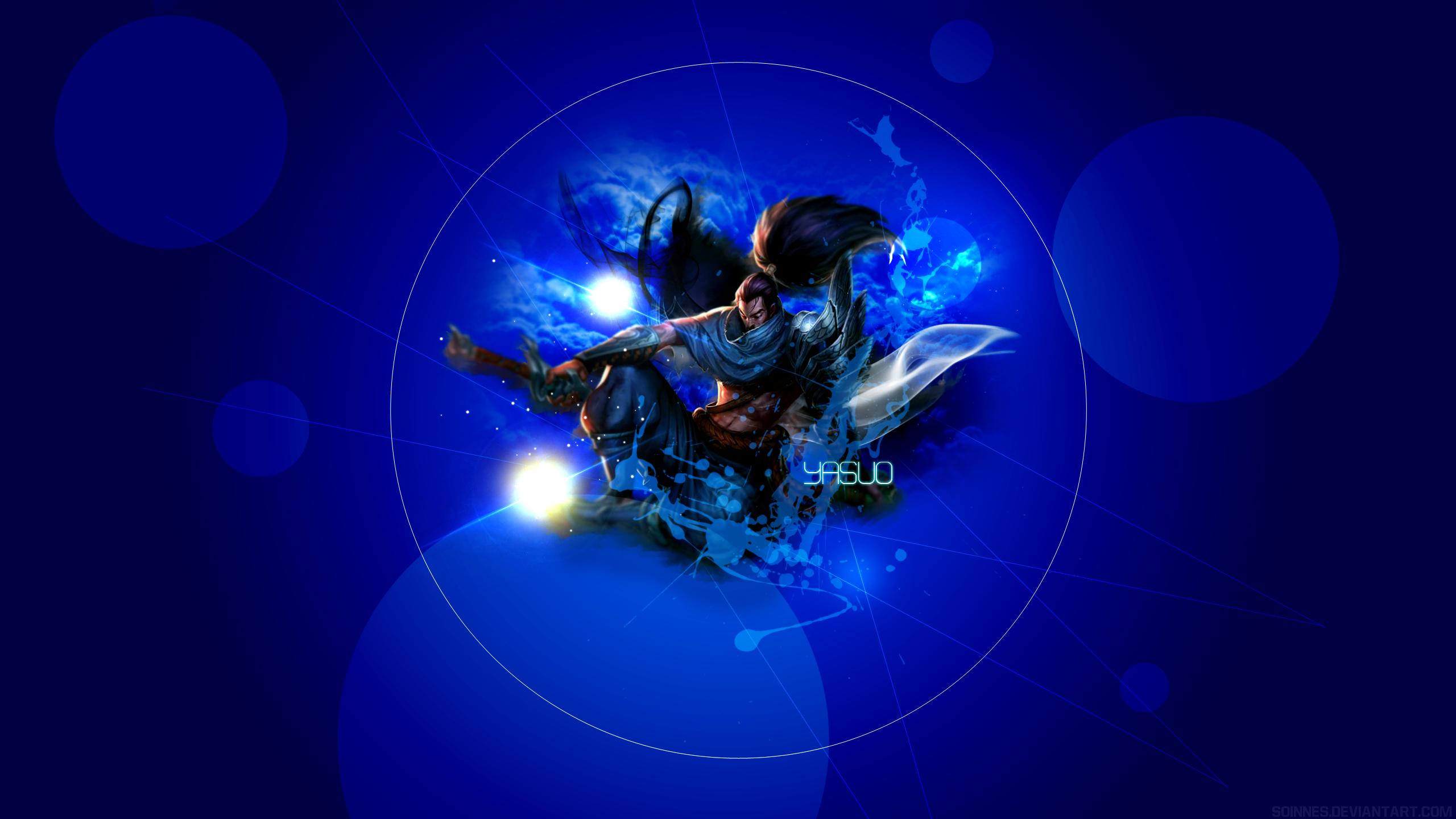 Yasuo Vs Riven Wallpaper Legends League Lol Art 1434844 2560x1440