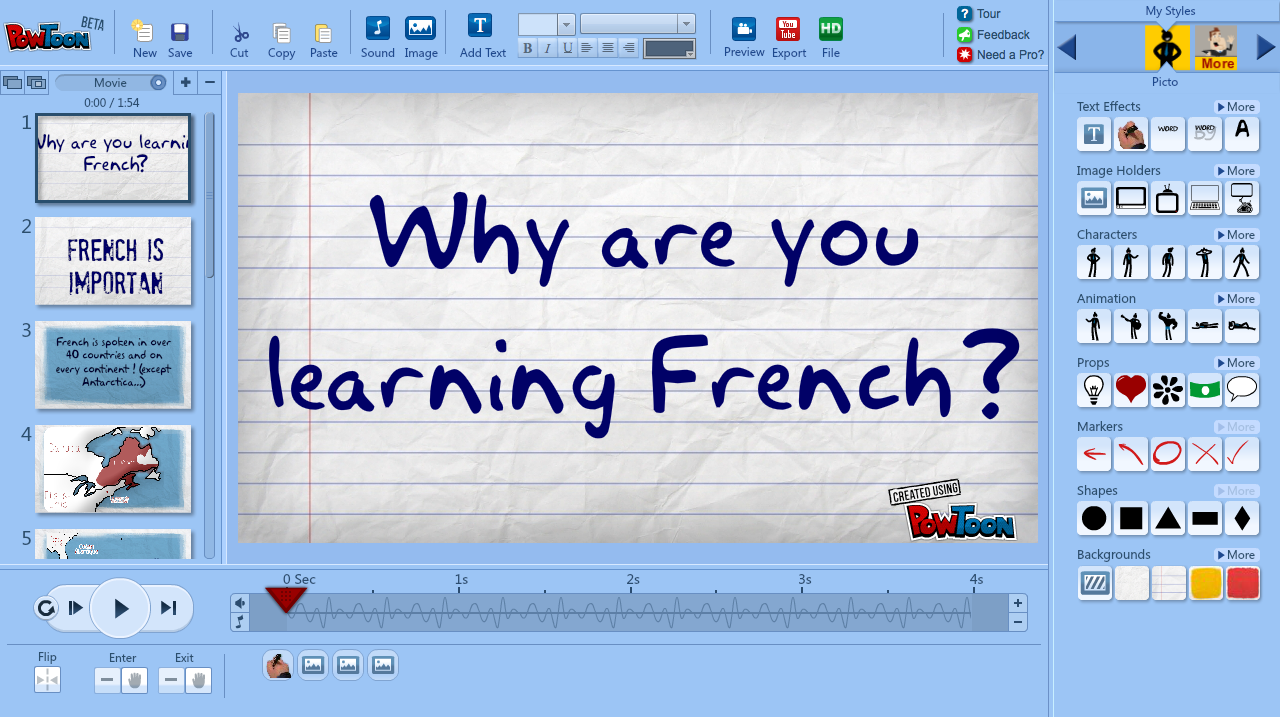 The French Corner Making Informational Videos with VideoScribe 1280x717