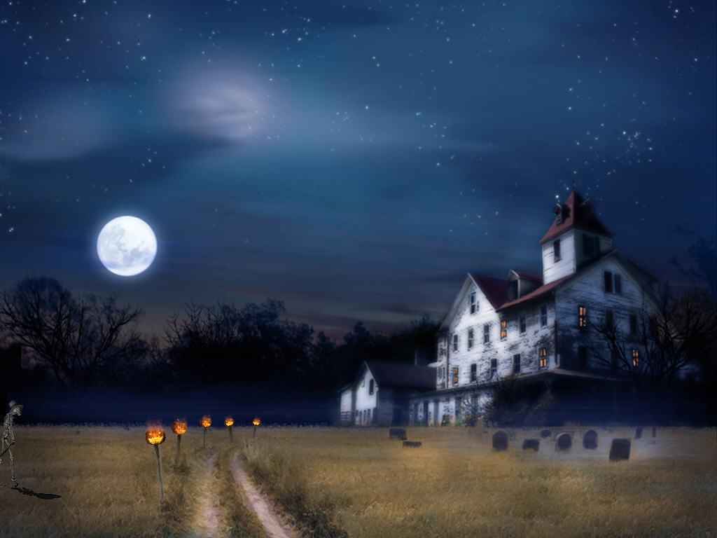 Enchanted House Halloween Screensaver Software Informer Screenshots 1024x768