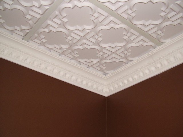 DCT Carved Styrofoam Crown Molding 5 in wide 65 ft long wallpaper 640x480