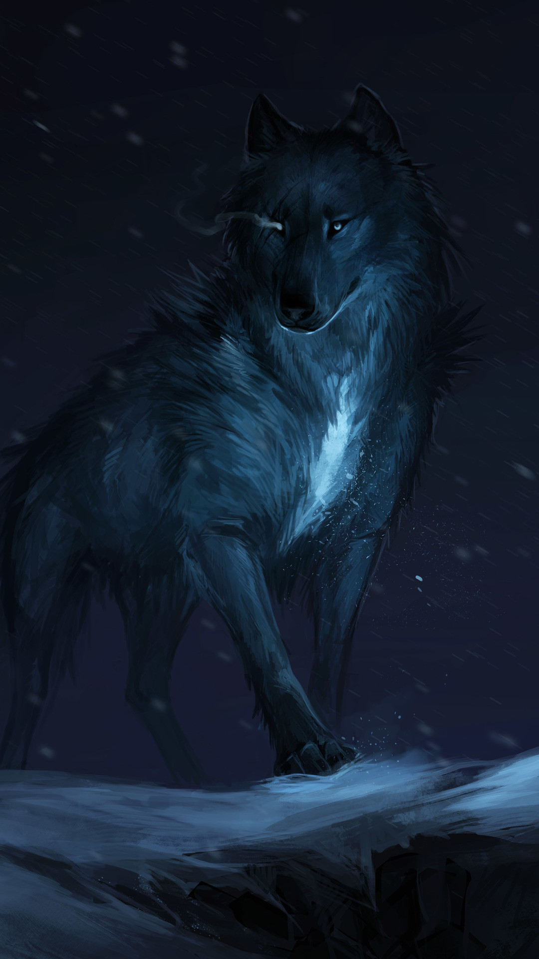 54 Wallpaper Of Wolf On Wallpapersafari