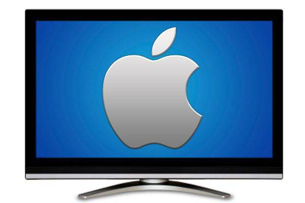 Apple Big Screen TV HD Wallpapers Backgrounds 600x400