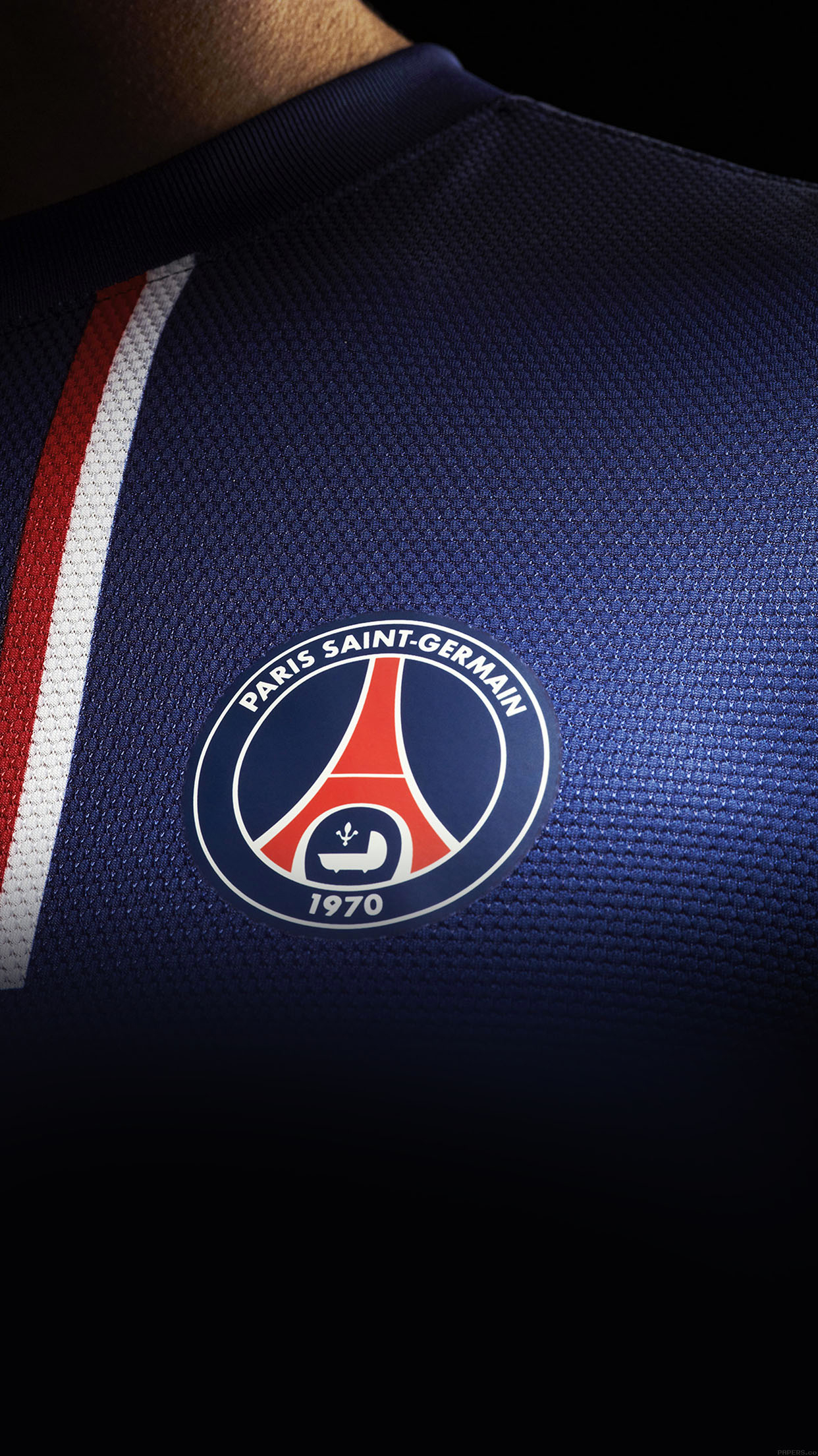 PSG Maillot iPhone 3Wallpapers Parallax Les 3 Wallpapers iPhone du 1242x2208
