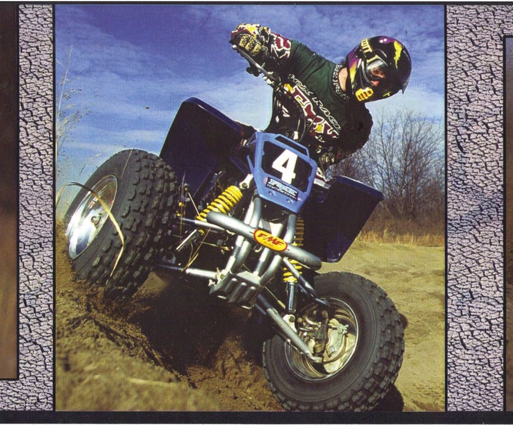 Motor Sports ATV Motocross Dirt Bike Wallpaper Border 10 ft Long 1000x828