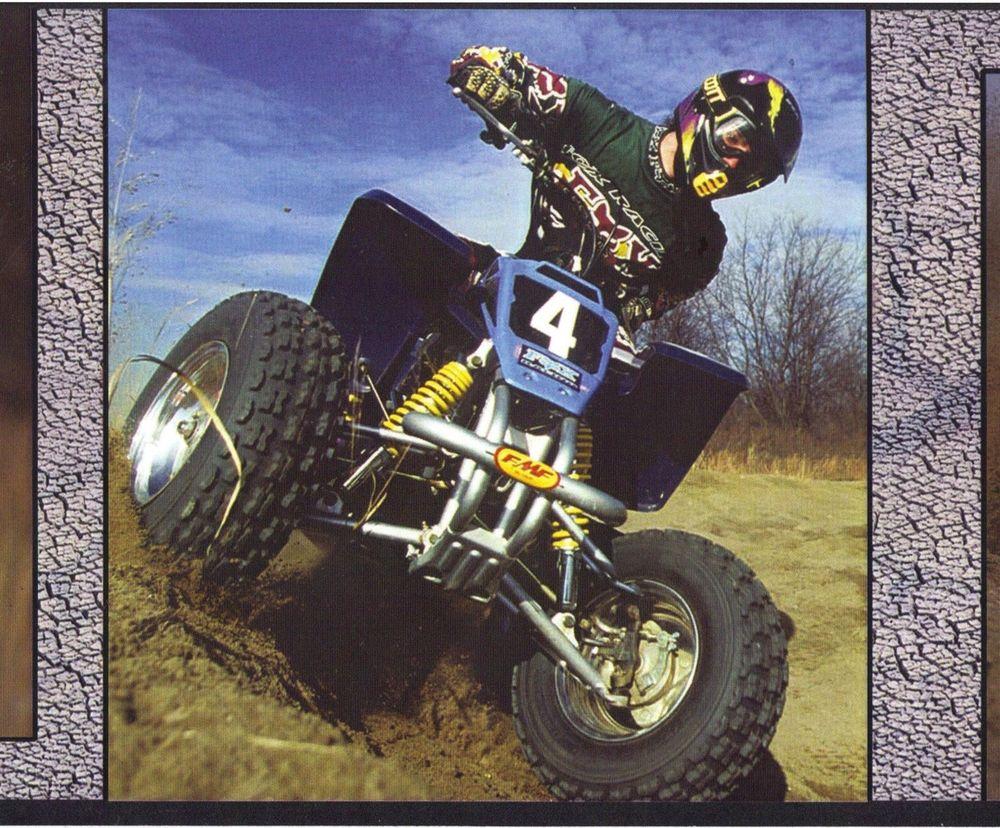 Motor Sports ATV Motocross Dirt Bike Wallpaper Border 10 ft Long 1000x828