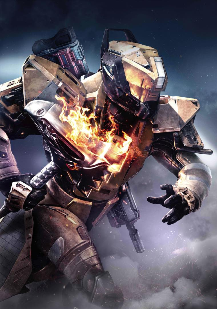 destiny titan sunbreaker iphone