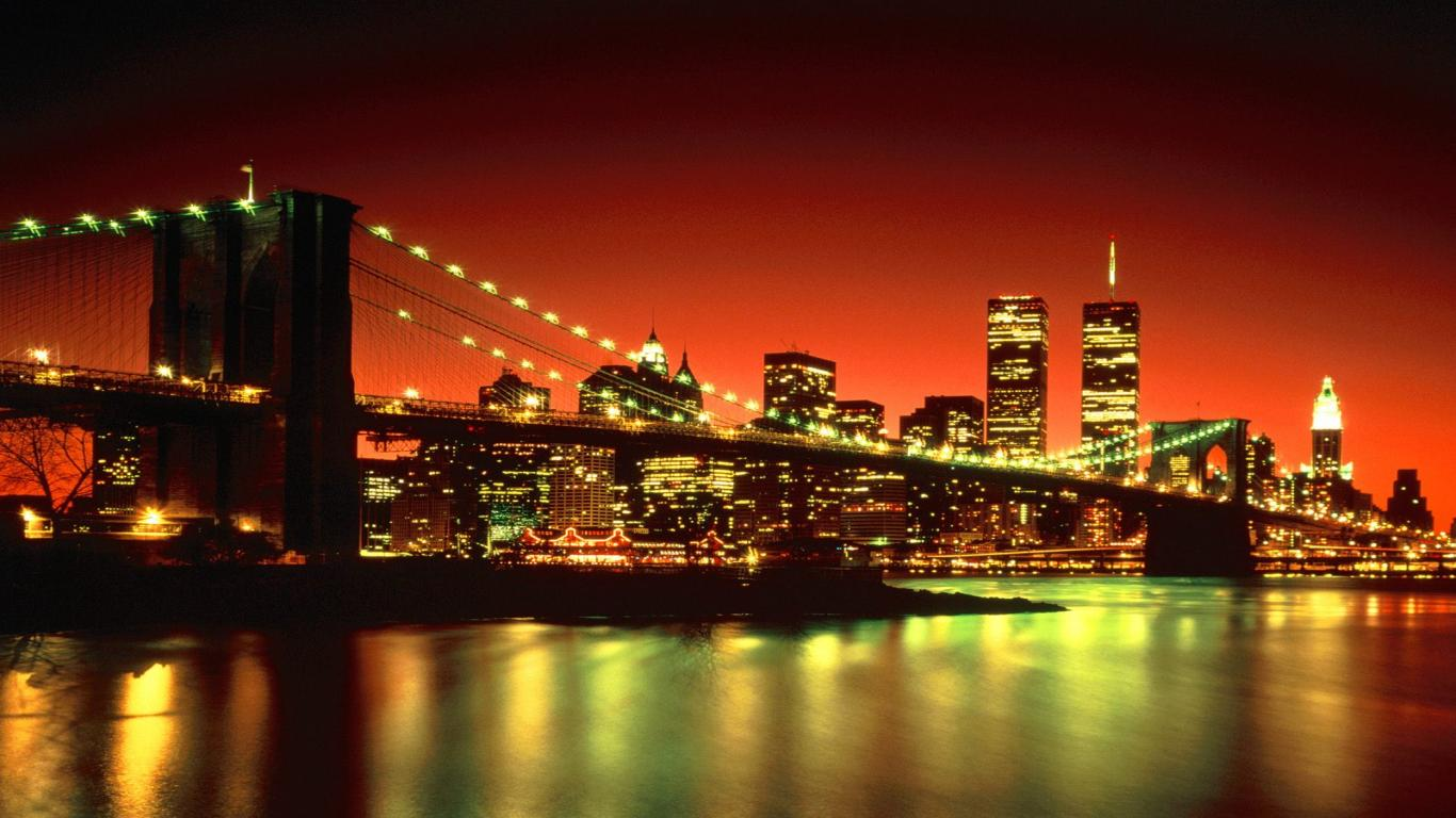 New York City Desktop Wallpapers 1366x768