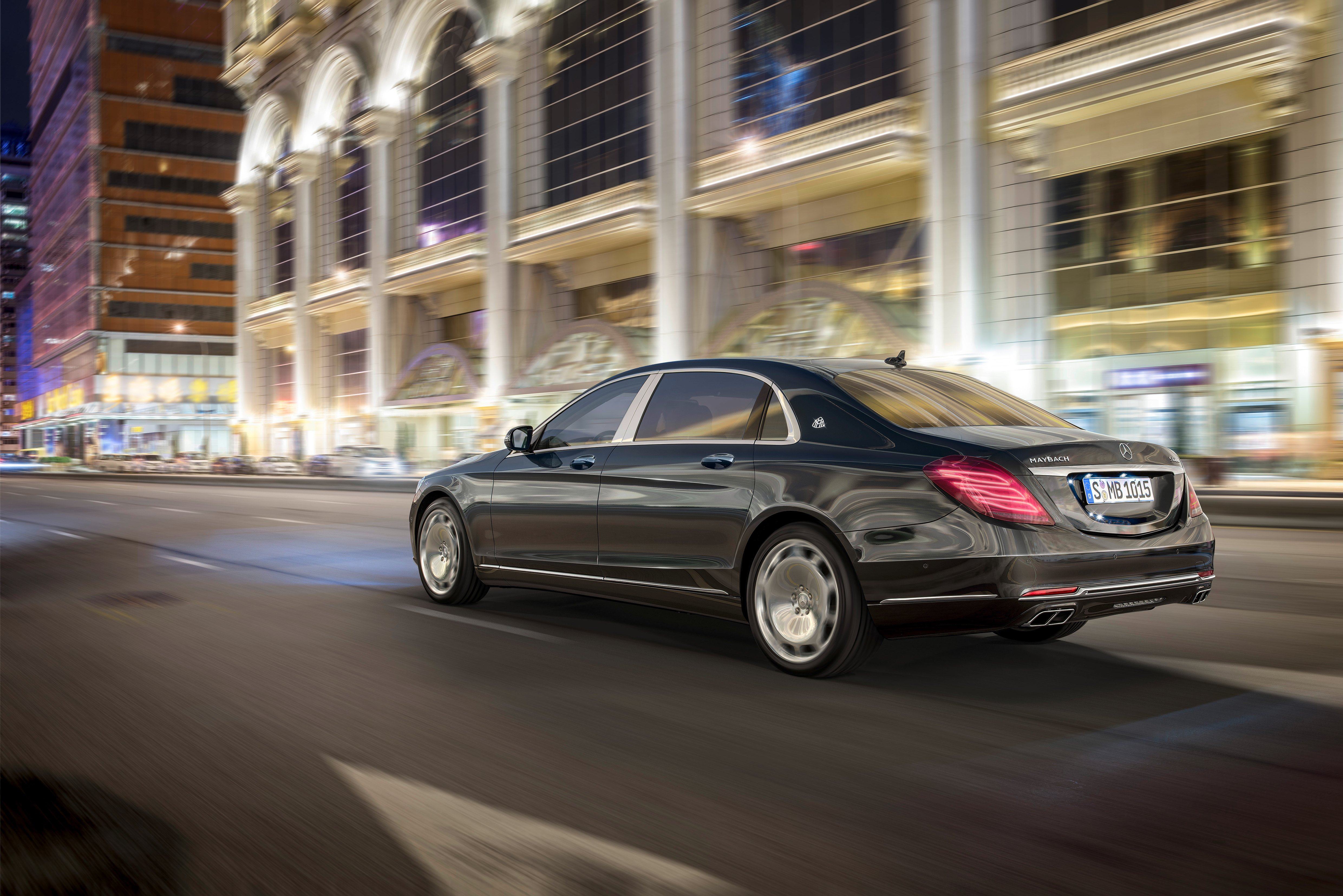 Mercedes Maybach S600 HD wallpapers download 4961x3313