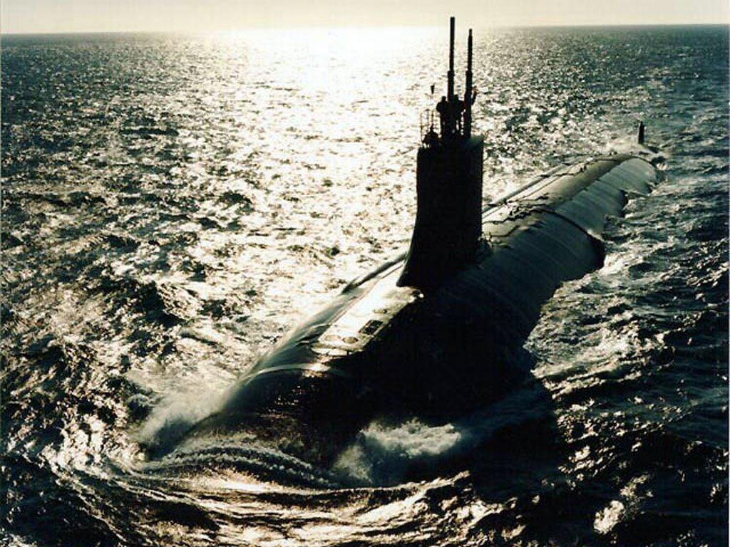 Fondos 1024x768   Fondos Submarinos   Wallpapers Submarino Nuclear 1024x768