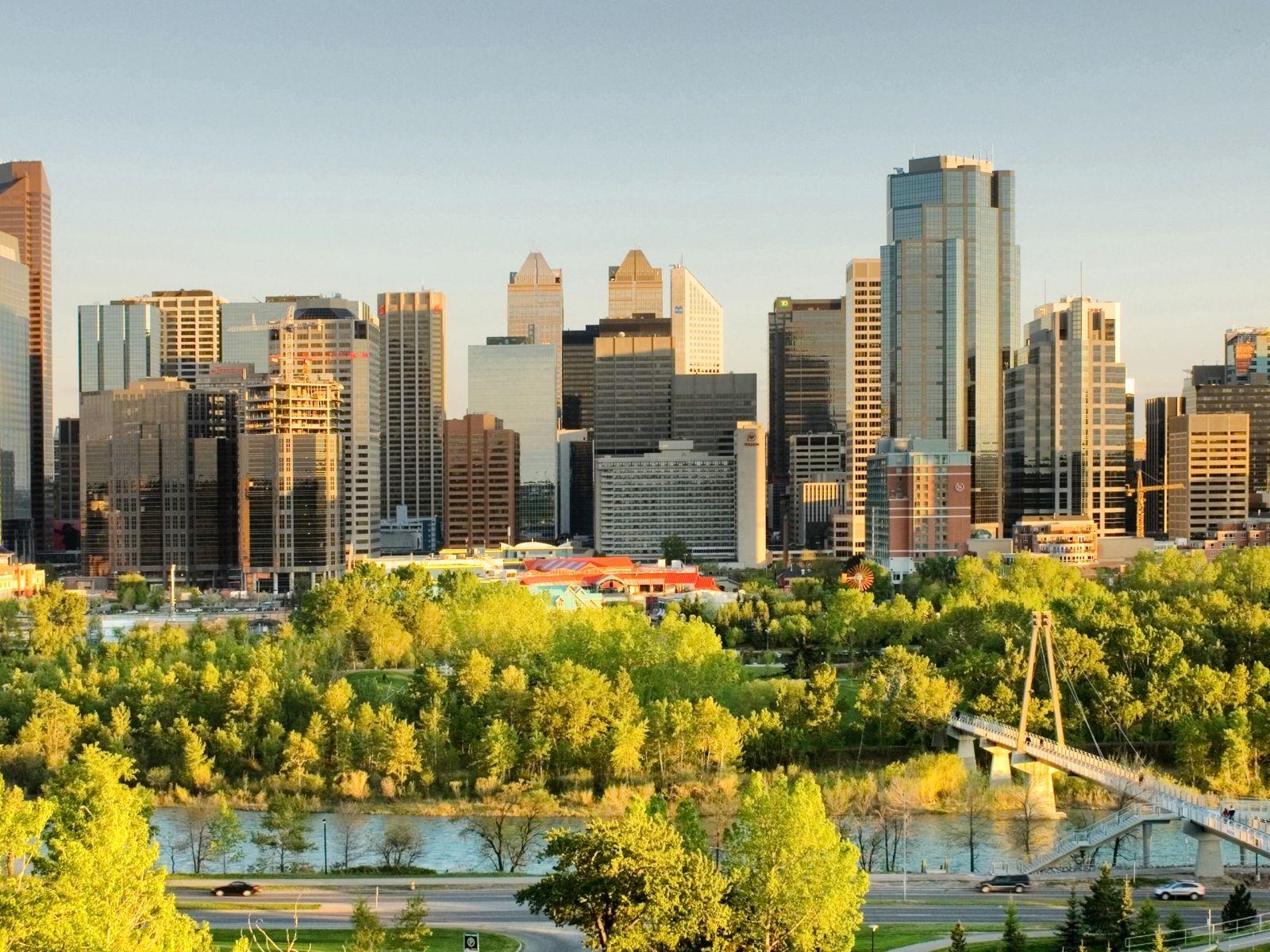 City Calgary Canada desktop wallpaper nr 57851 by Striker 1600x1200