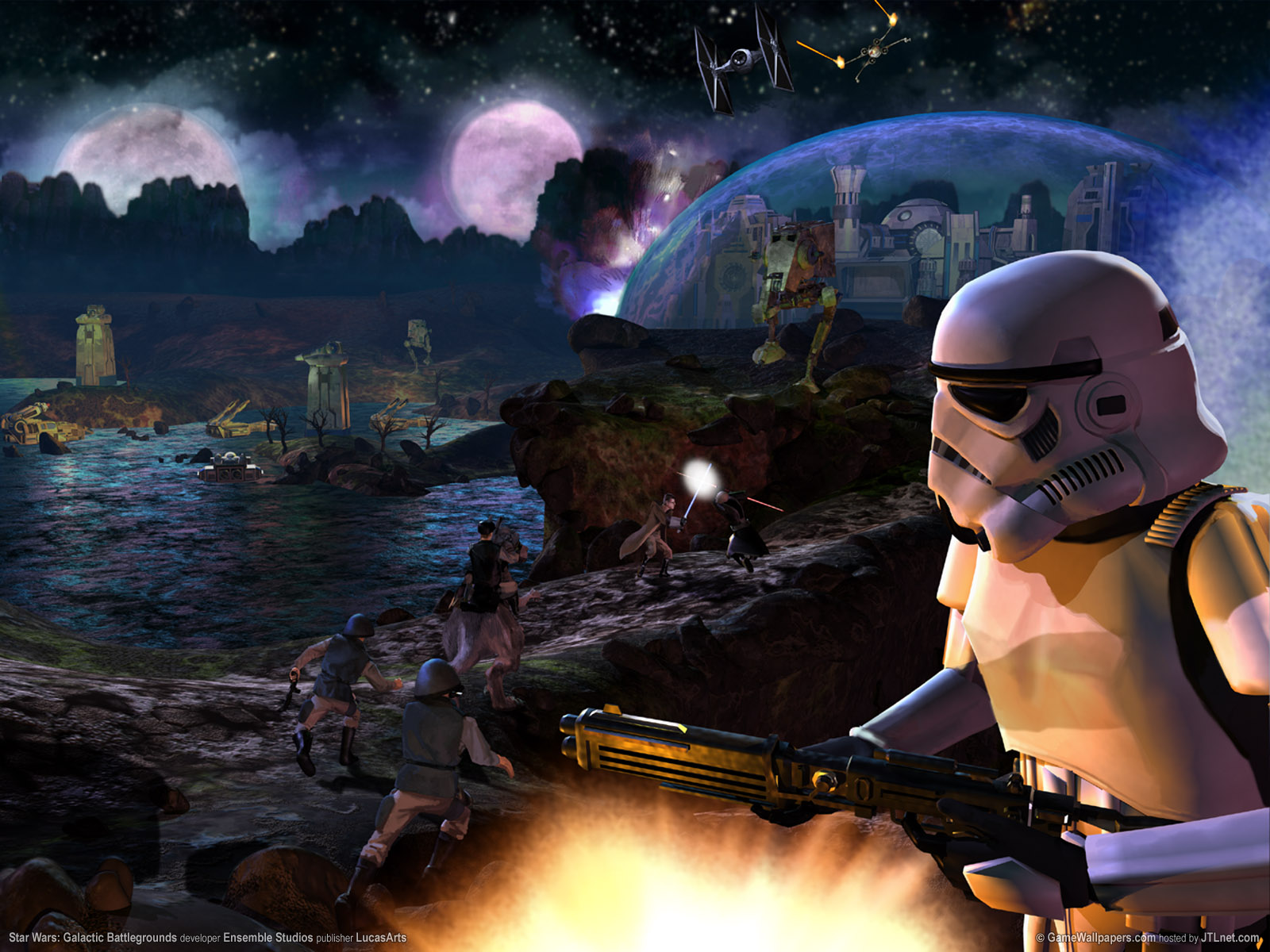 1600x1200 Star Wars Battlegrounds desktop PC and Mac 1600x1200