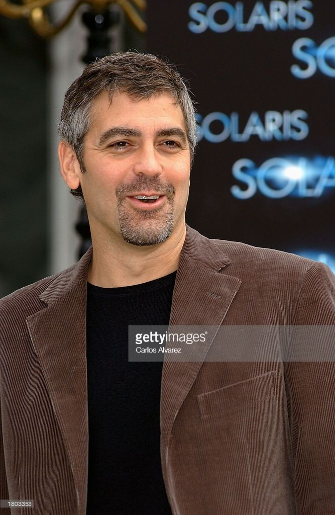 George Clooney Promotes Solaris And Confessions Of A Dangerous 667x1024