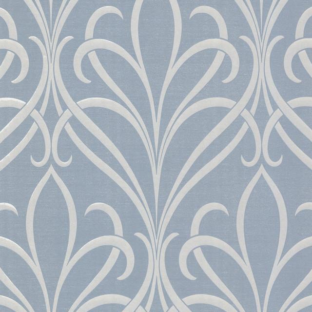 Damask Wallpaper Bolt   Contemporary   Wallpaper   by Brewster Home 640x640