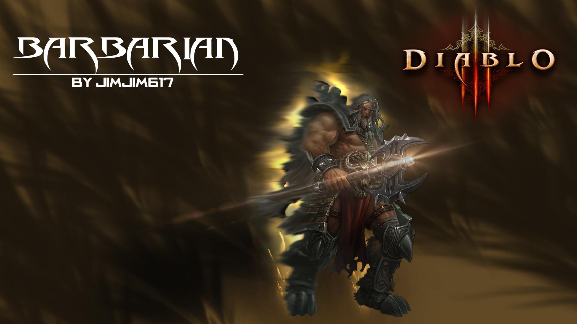 Diablo 3 Barbarian wallpaper   877168 1920x1080