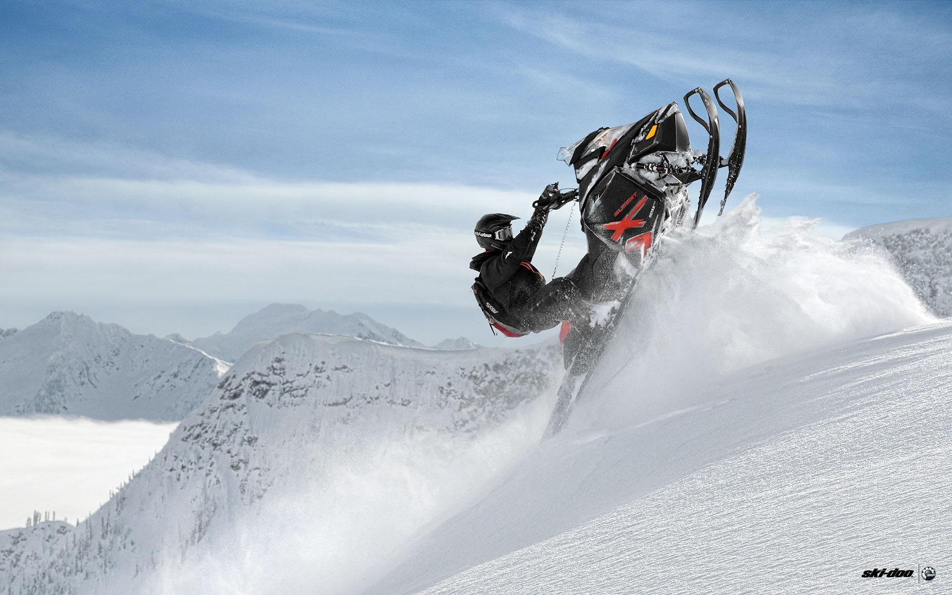 Galerie Snn sktry Ski Doo Sportovn Snowmobiles 1920x1200
