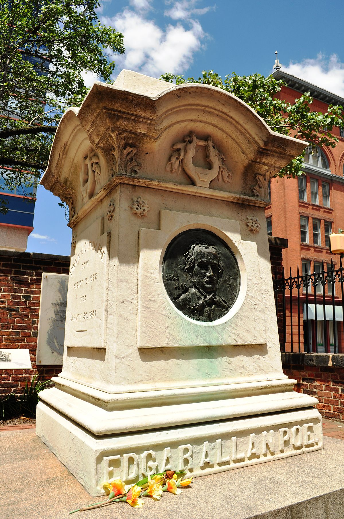 Death of Edgar Allan Poe   Wikipedia 1200x1807