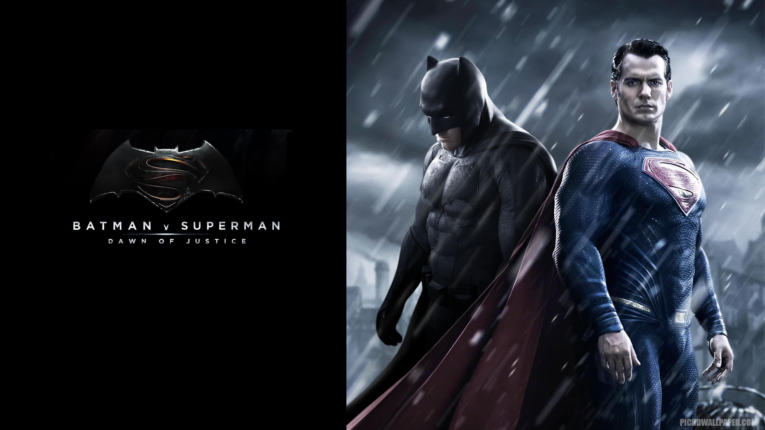 Batman vs Superman Dawn of Justice Desktop HD Wallpaper 2560x1440